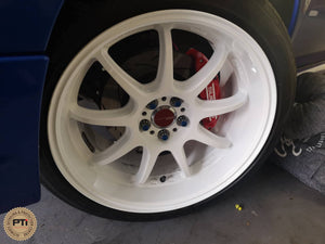 Wheel Coating and Caliper Coating