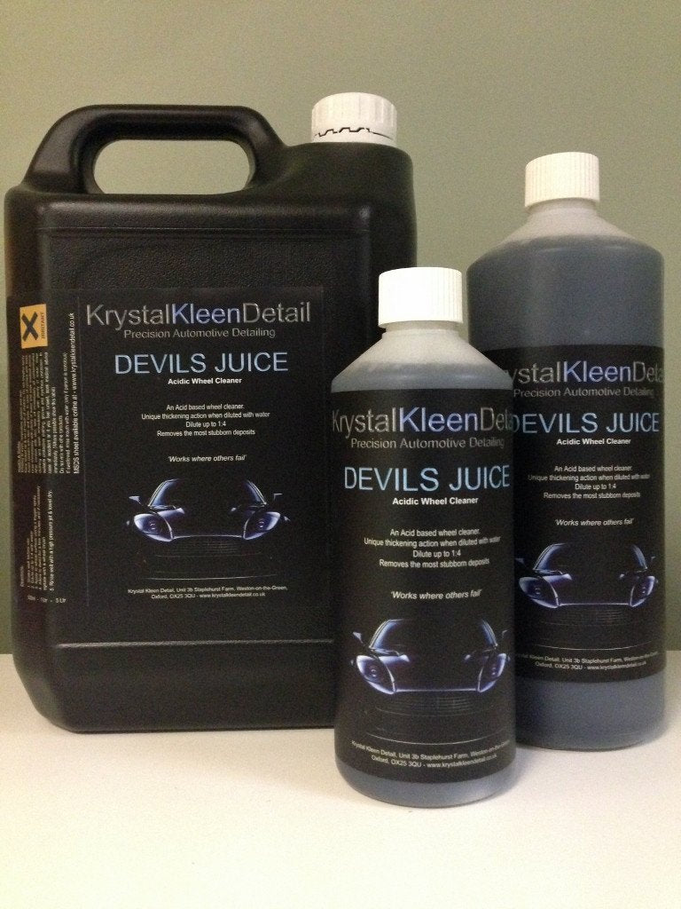 DEVILS JUICE Acidic Wheel Cleaner