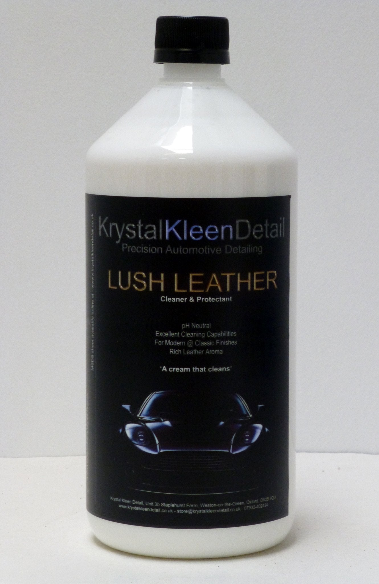 LUSH LEATHER Cleaner & Protectant