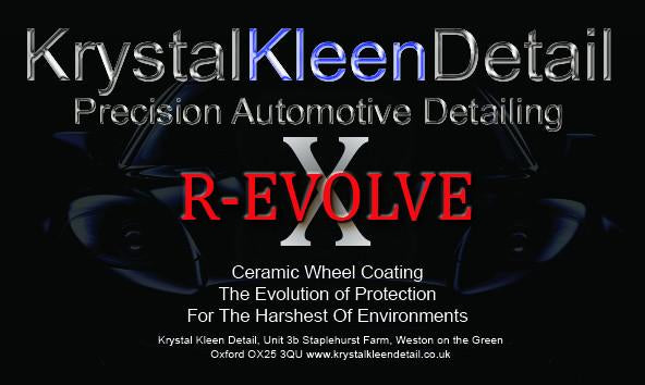 R-EVOLVE 'X' Ceramic Wheel Coating