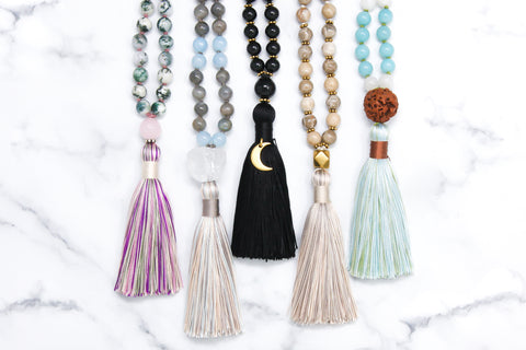 shop mala necklaces