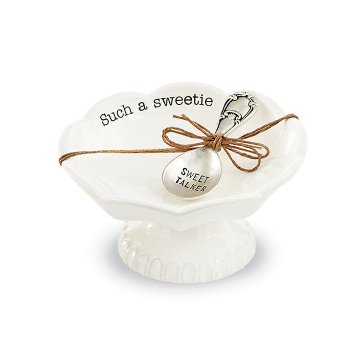 Mud Pie Sweetie Circa Candy Dish Set