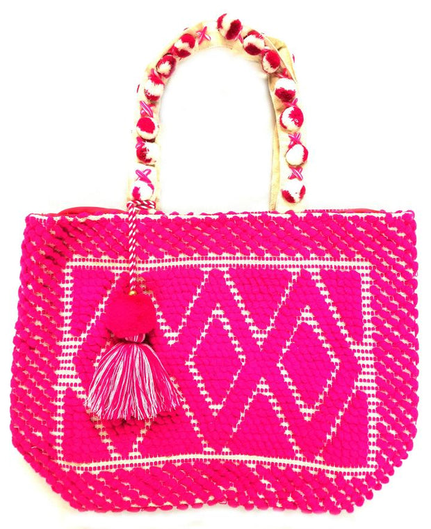 The Lulu Large Tote Pink