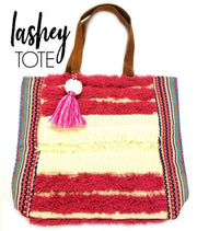 The Lashey Large Tote Pink