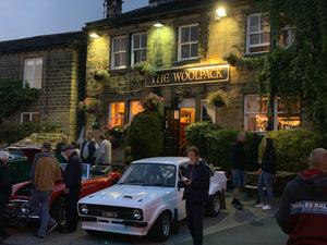 The Woolpack classic car meet