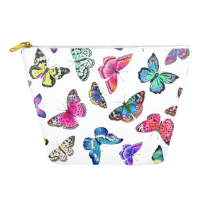Couture Butterflies Travel Pouch