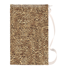 Leopard Drawstring Laundry Bag