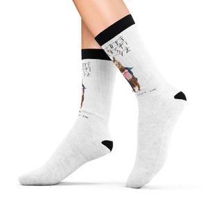 11 Llama: Stranger Things Sublimation Socks