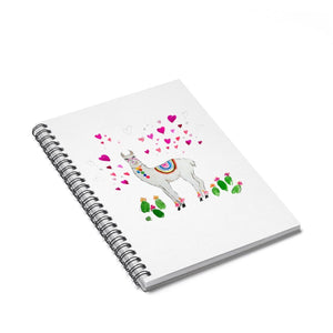 All Love Llama Spiral Notebook - Ruled Line