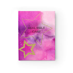 Real Girls Camp Ombre Stars Journal