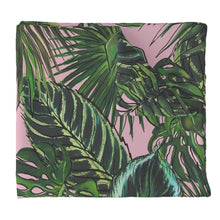 Palm Leaf Blush LUXE Duvet Cover