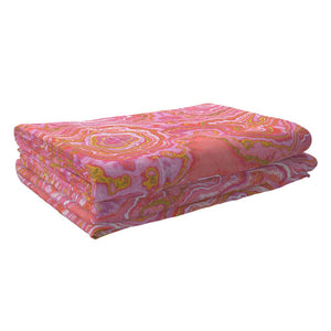 Hot Pink & Gold Geode LUXE Sheet Set