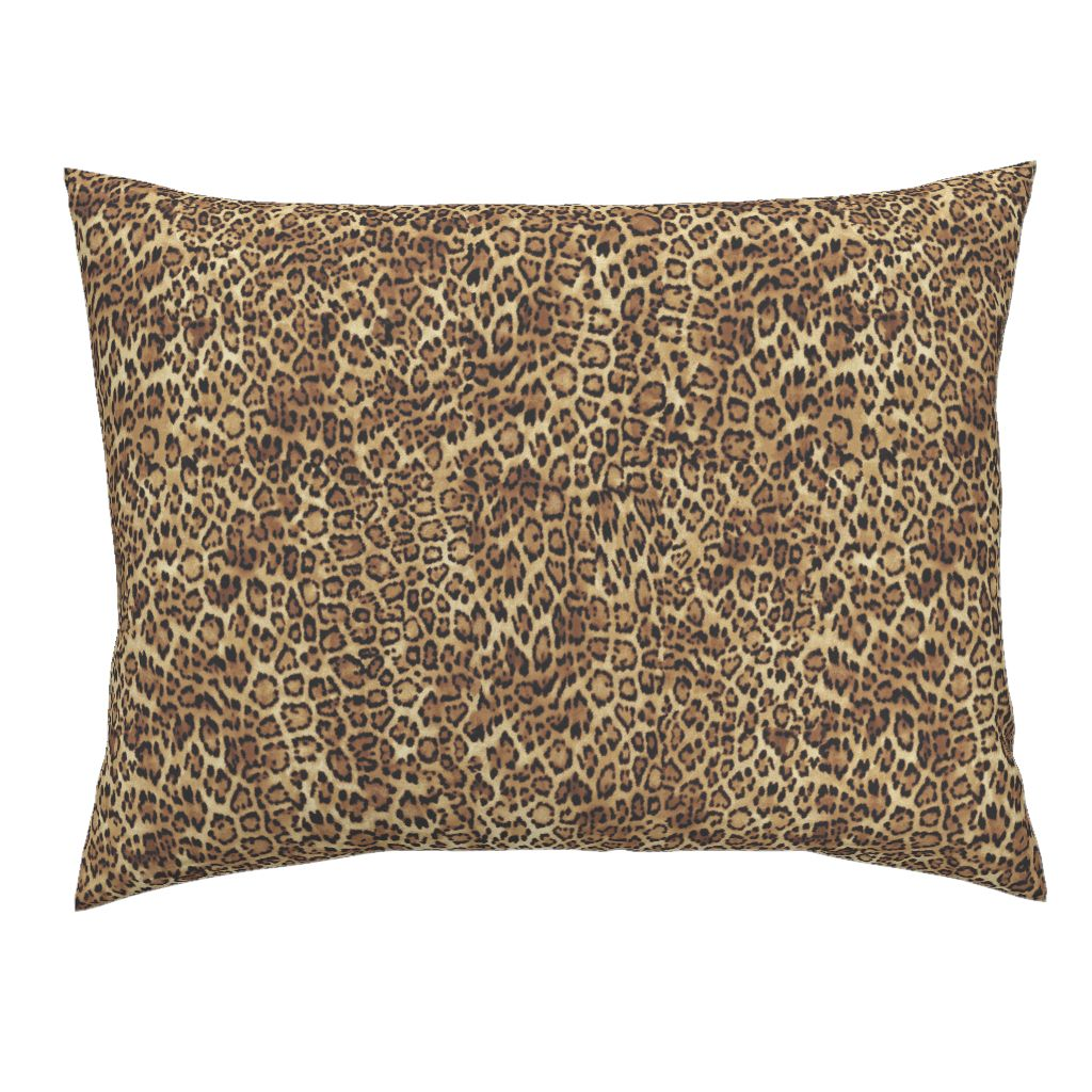 Leopard LUXE Knife Edge Campine Pillow Sham
