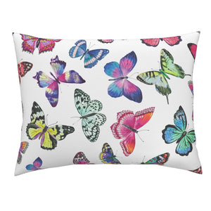 Couture Butterflies LUXE Knife Edge Campine Pillow Sham