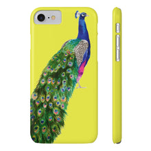 Peacock Yellow Case Mate Slim Phone Case