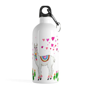 All Love Llama Stainless Steel Water Bottle