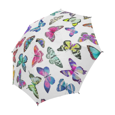 Couture Butterflies Semi Auto Fold Umbrella