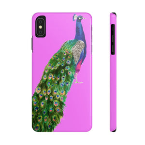 Peacock Hot Pink Case Mate Slim Phone Case