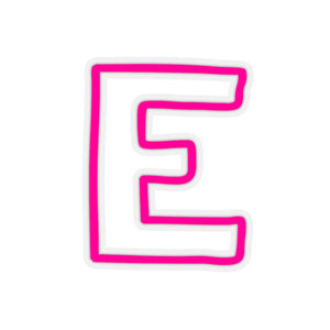 HOT PINK CAMP CAR STICKERS LETTERS A-L