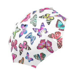 Couture Butterflies Auto Fold Umbrella