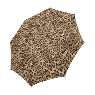 Leopard Semi Fold Umbrella