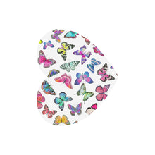 Couture Butterflies Heart Shape Mousepad