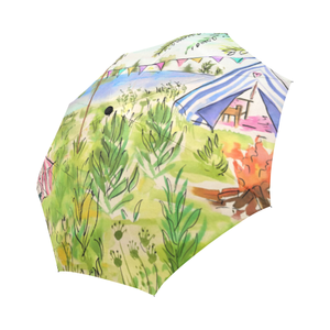 Glamping Summer Camp Auto Fold Umbrella