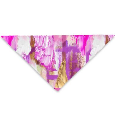 Paint Graffiti Pet Bandana