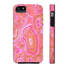 Hot Pink & Gold Geode Case Mate Tough Phone Case