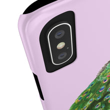 Peacock Lilac Pink Case Mate Slim Phone Case