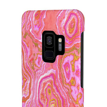 Hot Pink & Gold Geode Case Mate Slim Phone Case