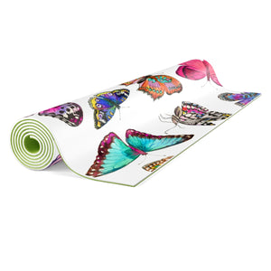 Couture Butterflies Yoga Mat