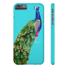 Peacock Turquoise Case Mate Slim Phone Case