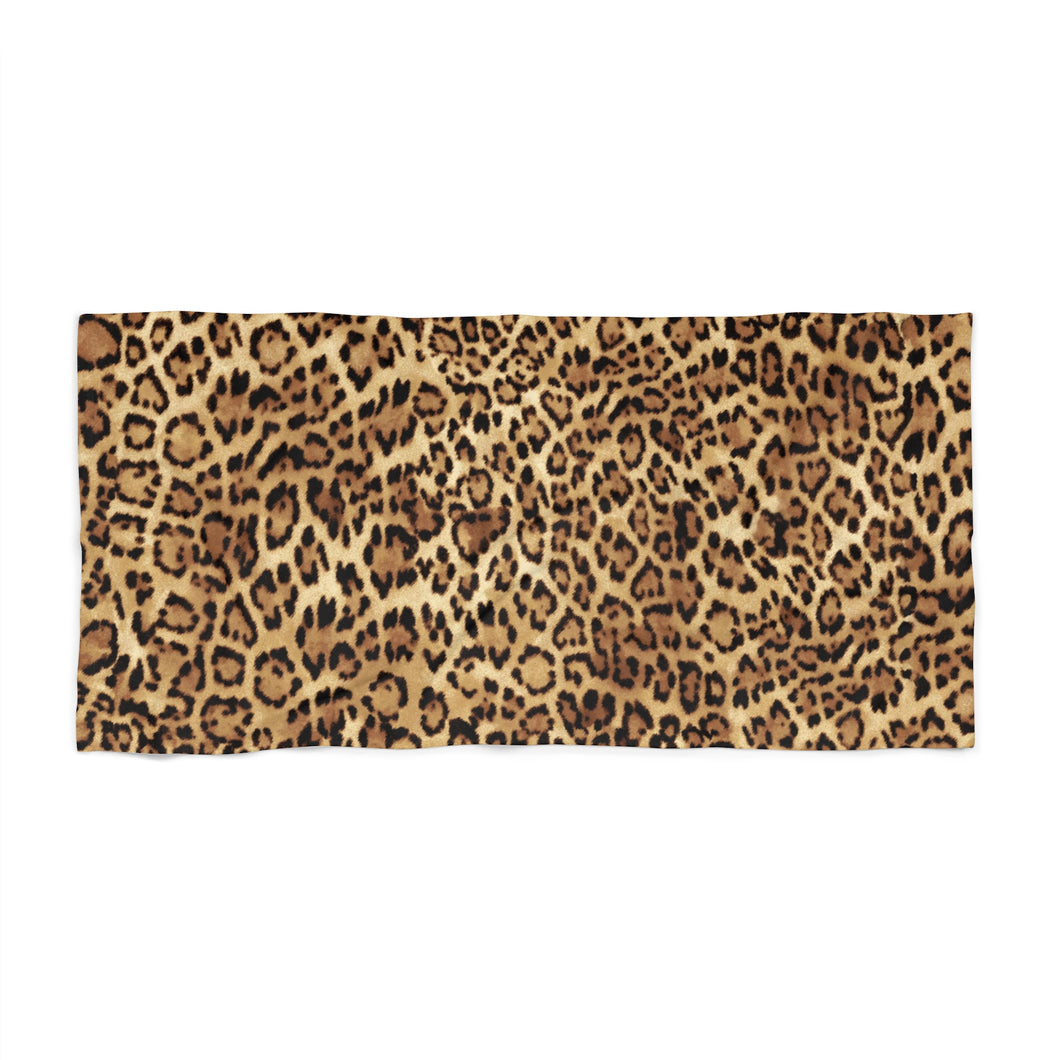 Leopard Beach & Bath Towel