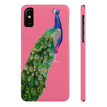 Peacock Coral Case Mate Slim Phone Case