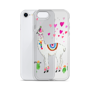 All Love Llama iPhone Case