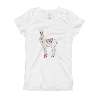 All Love Llama Solo Girl's T-Shirt