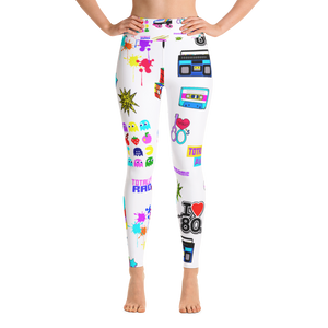 80's Jam Yoga Leggings