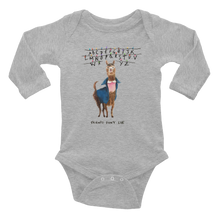 11 Llama Infant Long Sleeve Bodysuit