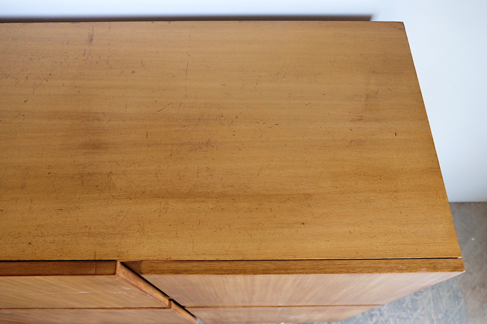 Mid Century Modern Large Storage Unit Console Three Pieces Funky Legs
