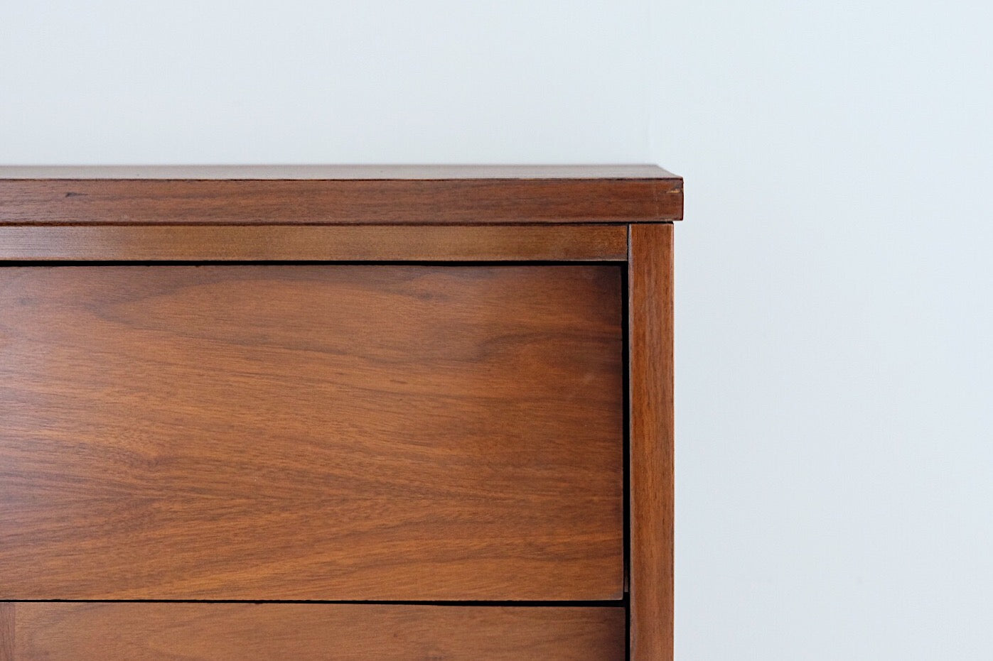 Ward Tall Chest of Drawers Mid Century Modern Louvered