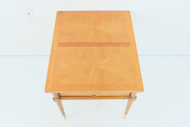 American of Martinsville Mid Century Coffee Table Single Drawer