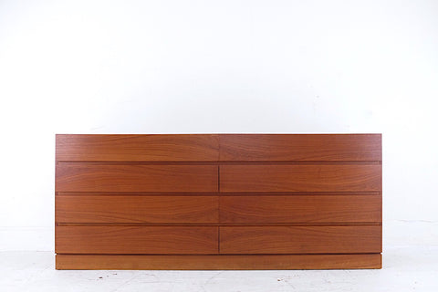 Leslie Diamond for Conant Ball ModernMates Sideboard Mid Century Modern Three Drawers Three Cabinets