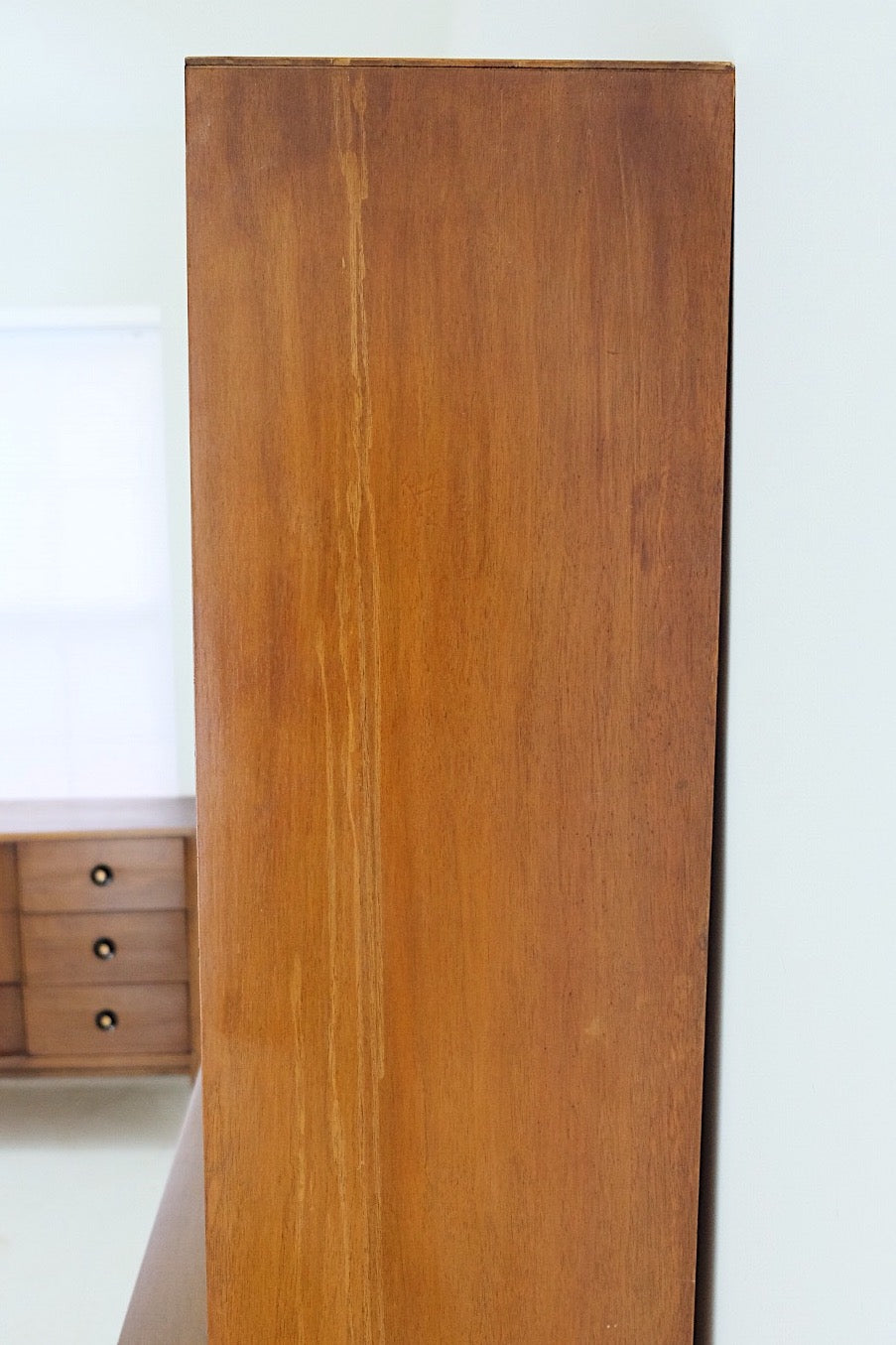 Kroehler Hutch Mid Century Modern Cabinet Three Drawers Six Shelves