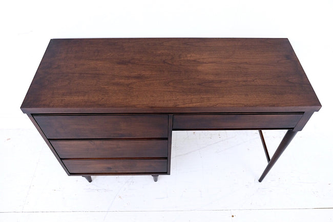 Mid Century Modern Desk Finished On All Sides