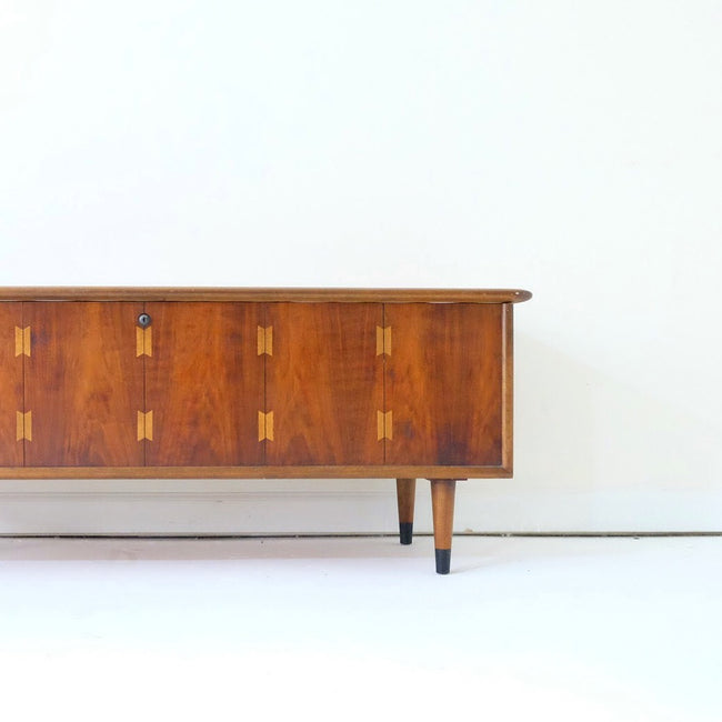 New Lock Pending - Lane Mid Century Modern Blanket Chest with Tapered Legs Acclaim Series Bow Tie Dovetail