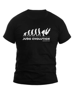 Judo T-Shirt Evolution - JudoShop.com