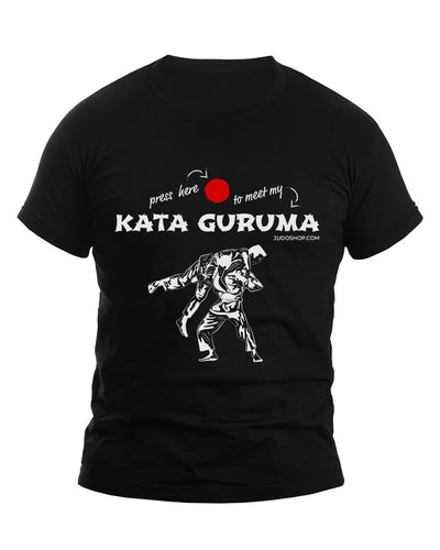 Judo T-Shirt Kata Guruma Press Here - JudoShop.com