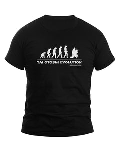 Judo Tai Otoshi Evolution Men's Tshirt - JudoShop.com