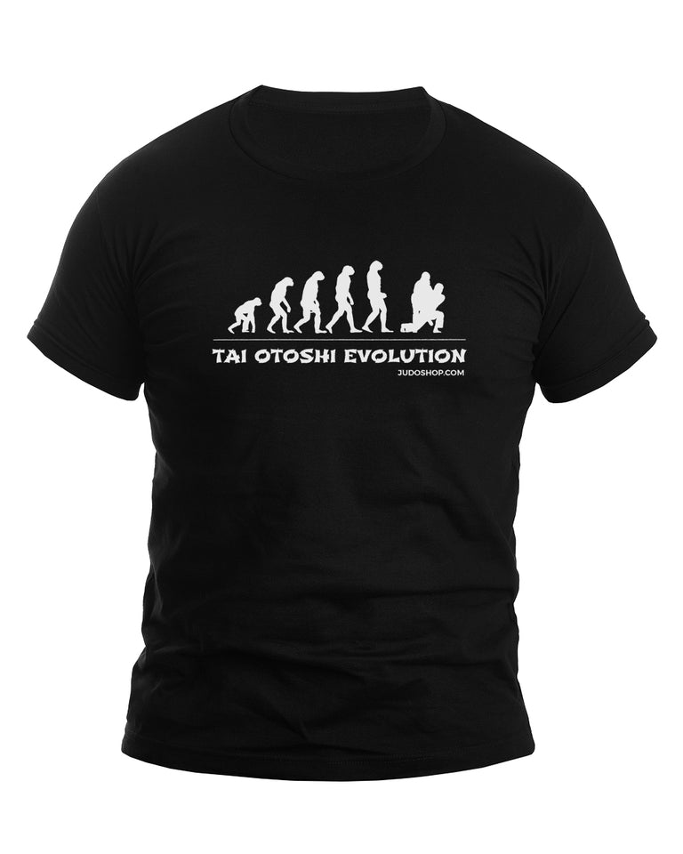 Judo T-Shirt Tai Otoshi Evolution - JudoShop.com